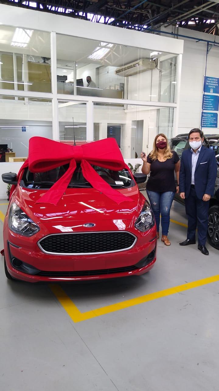 Confira a entrega de mais um carro do Club MAPFRE da Sorte   Sorteio 29/02/2020